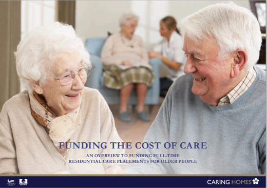 Caring Homes Guide on Funding