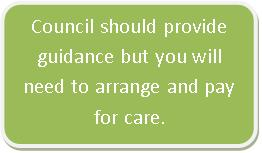 Council duty to provide guidance only