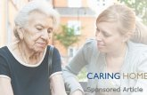 How does the 2014 Care Act affect the elderly?