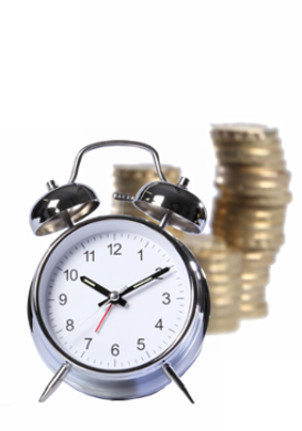 time and money image